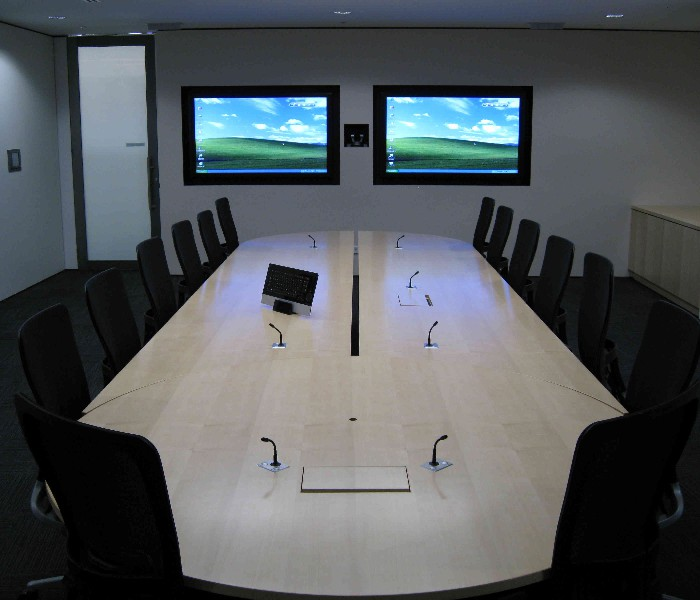 Boardroom Scissor Table Tv Lifts Ultralift Australia