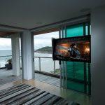Slide Out Motorised TV Mount