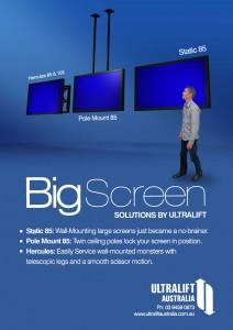 Big Screen Solutions By Ultralift Ultralift Australia
