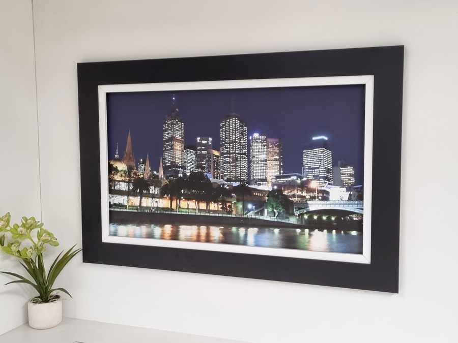 TV Picture frame motorised wall lift