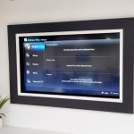 motorised painting mechanism hiding TV