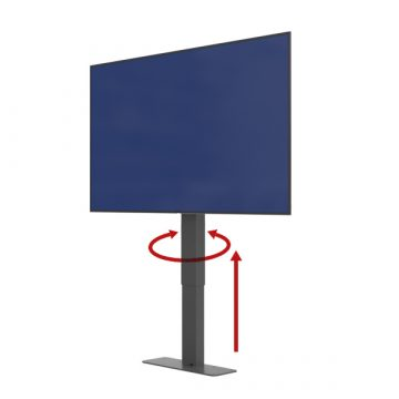 Pop Up TV Lift Cabinet with Swivel Phoenix Lift