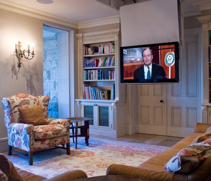 TV Ceiling Drop Down, Motorised TV Lift, TV Mount