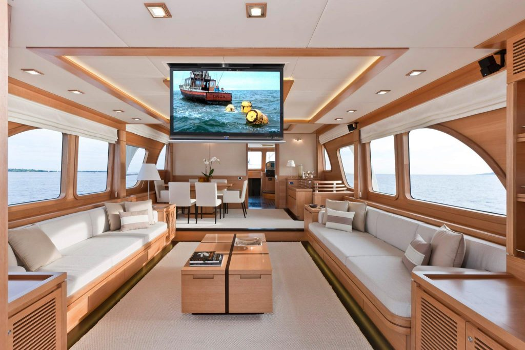 yacht TV ceiling lift