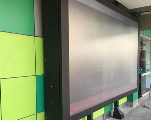 University Custom TV video wall