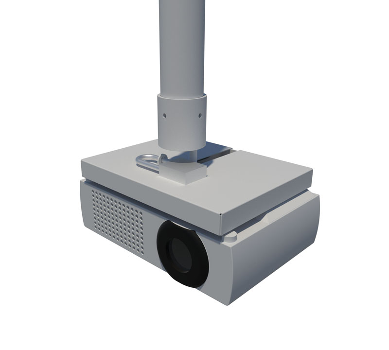 Secure projector mount university