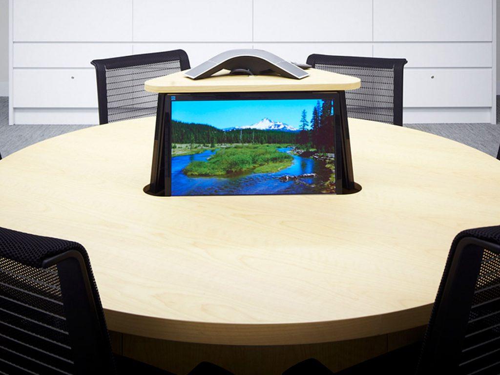 Boardroom Monitor Lift