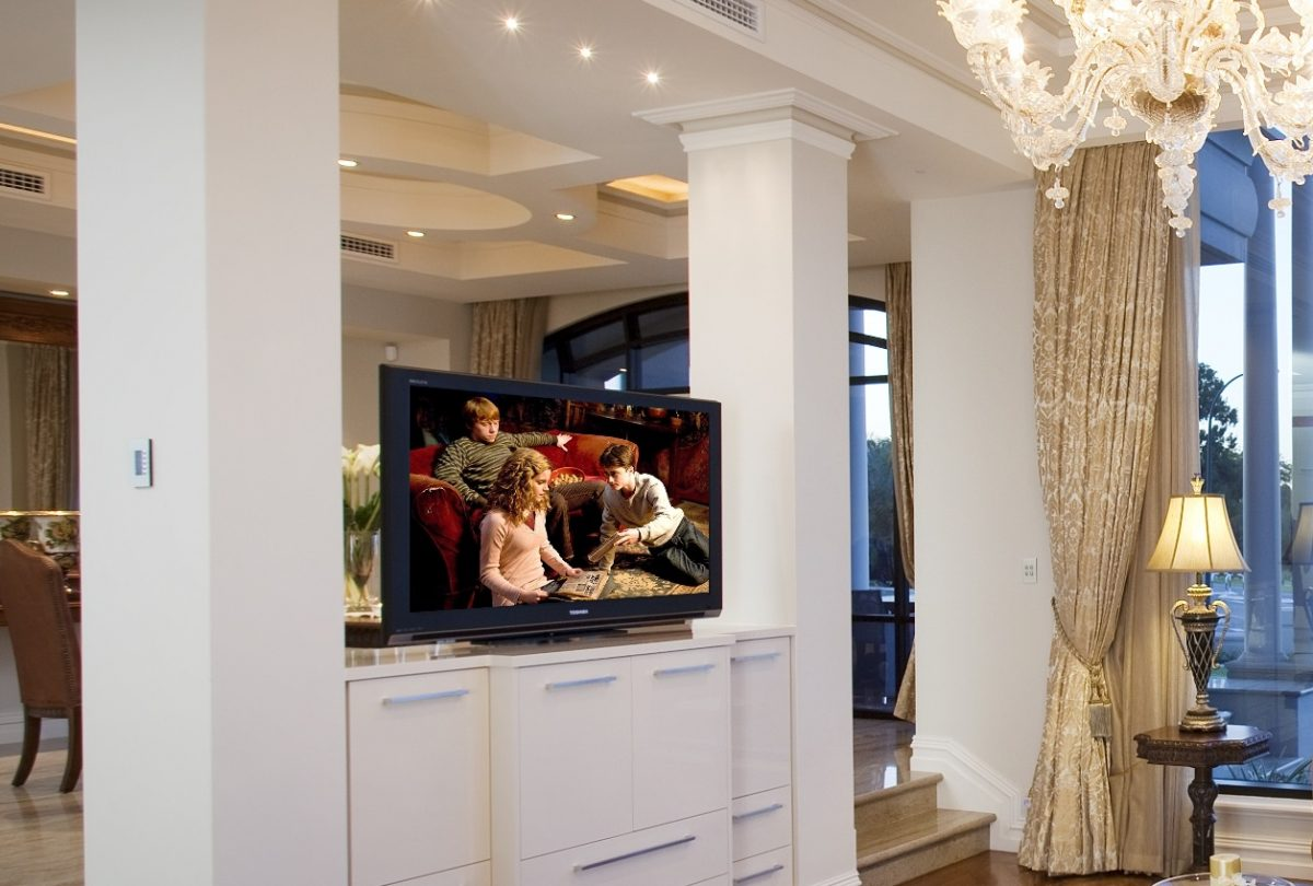 Hidden TV Cabinet Pop Up TV