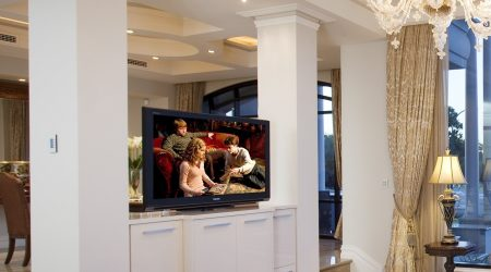 Hidden TV Cabinet Pop Up TV