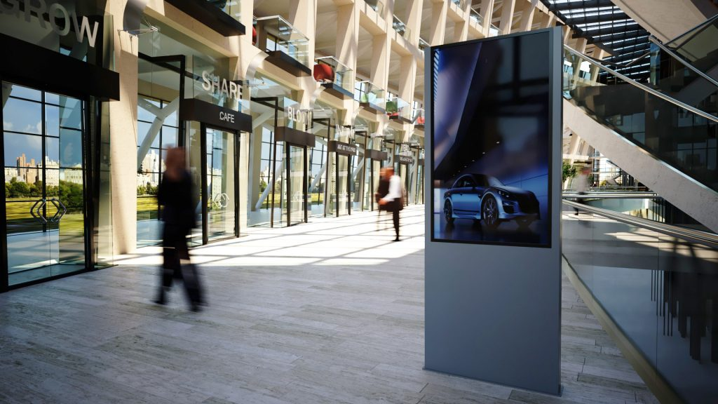 Digital Display Stand